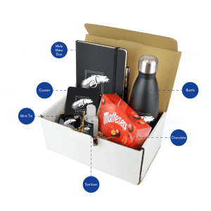 Mailable Merchandise Gift Pack - Premium
