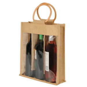 Three Bottle Wine Bag