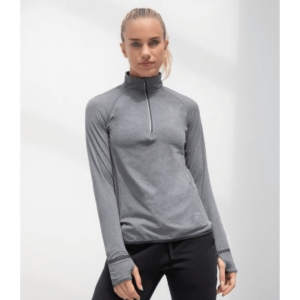 TL563Tombo Ladies Long Sleeve Zip Neck Performance Top (1) (1)