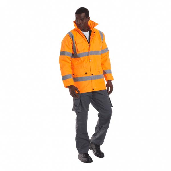 UC803 - Uneek Hi Vis Safety Jacket