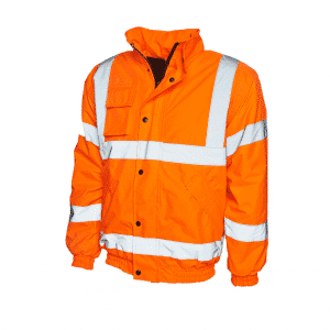 UC803 - Uneek Hi Vis Safety Jacket - Orange
