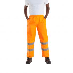 Uneek Hi-Viz Trousers - Orange