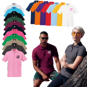 Fruit of The Loom Premium Cotton Polo Shirt
