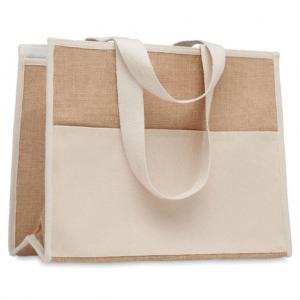 Branded Jute Shopping Bag