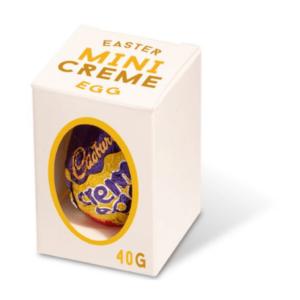 Easter Mini Creme Egg Box