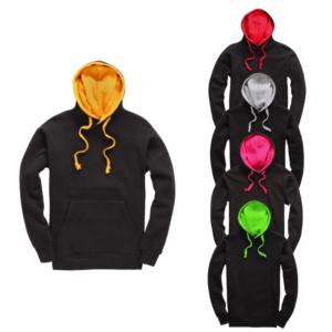 Branded Premium Contrast Hoodie