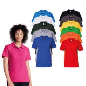 Gildan Ladies SoftStyle Double Piqué Polo Shirt