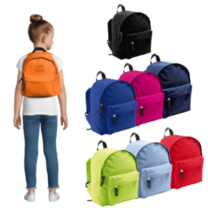 Kids Embroidered Rider Backpack