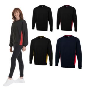 UC217 - Uneek Two Tone Crew New Sweatshirt