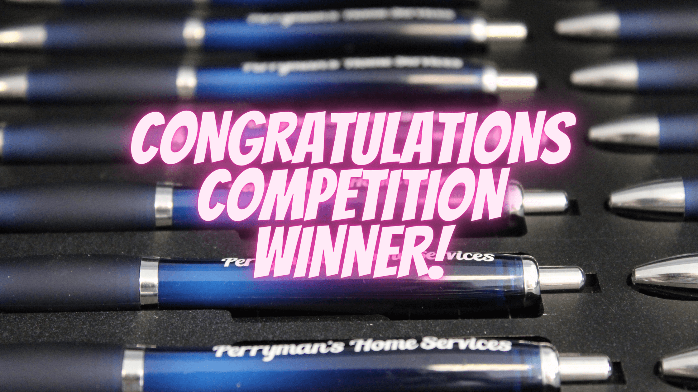 CONGRATULATIONS TO PERRYMANS HOME SERVICES
