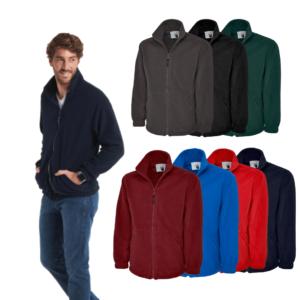 UC604 - Uneek Classic Full Zip Micro Fleece Jacket