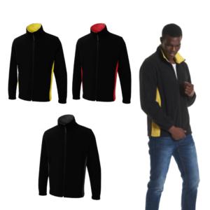 UC617 - Uneek Two Tone Full Zip Fleece Jacket