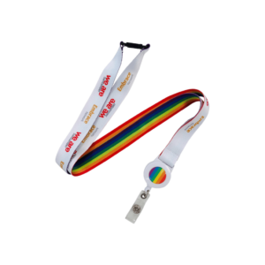 Branded Lanyard with pull ring