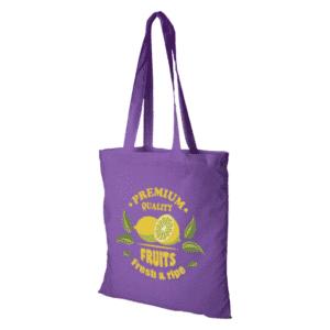 No Minimum Order Quantity Printed Tote Bags printed full colour