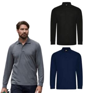 RX102 Pro RTX Pro Long Sleeve Piqué Polo Shirt