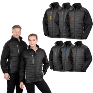 Result Compass Padded Softshell Jacket