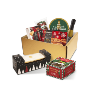 Luxury Christmas Gift Box With Prosecco