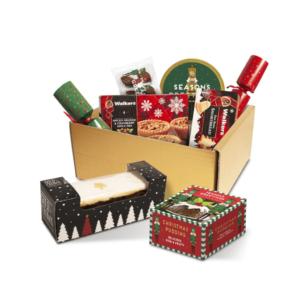 Luxury Christmas Gift Box With Crackers