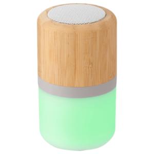 Wireless Speaker With Multi-Coloured Light